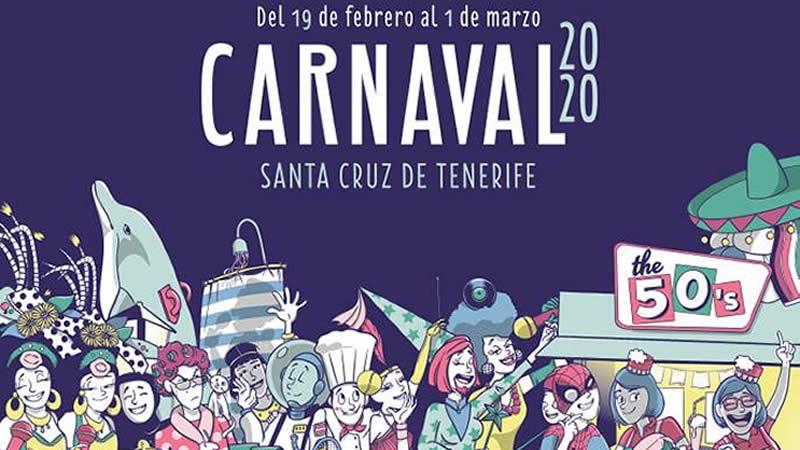 Karnivalið á Tenerife 2020