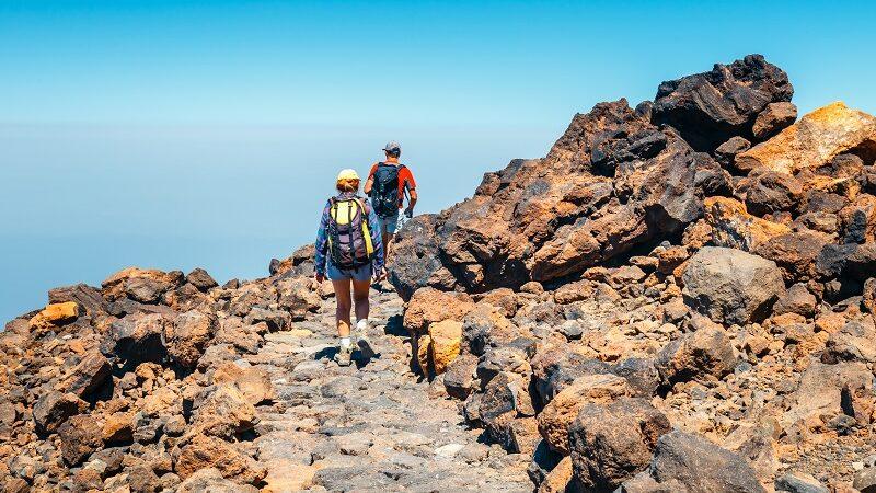 Tenerife er tilvalið fyrir útivist að vetri til